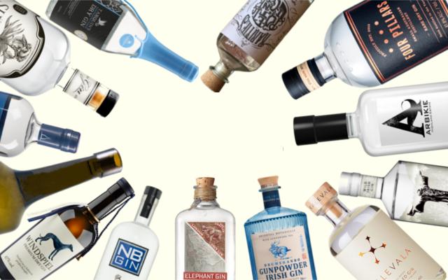 Previous Craft Gin Club gins