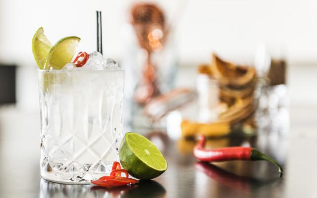 The Big Bang Theory gin cocktail