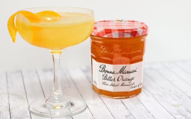 Bonne Maman April In Paris Gin Cocktail