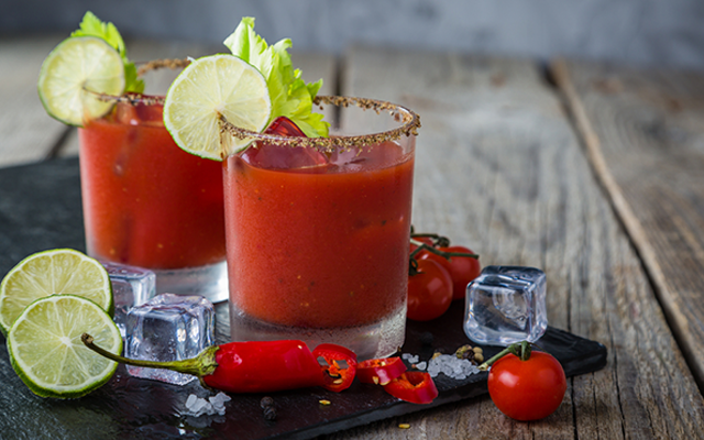 Did you know that fresh cherry tomatoes can also be used as a garnish for a G&T?
