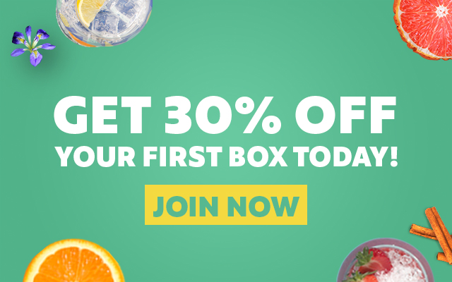 Craft Gin Club 30 percent off your first box