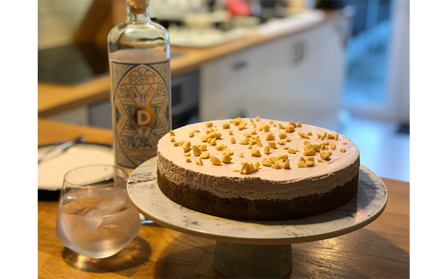 Ashley's lavender cheesecake with a side of Dodd's Limited Edition gin looked too DELICIOUS not to share with you all!
