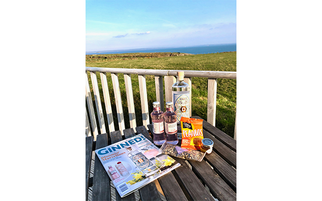 Cathryn's family holiday to Pembrokeshire got us all wanting a nice cold G&T overlooking a similarly fantastic view!