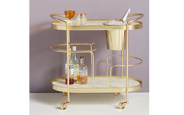 10 stunning art deco-inspired drinks trolleys & cabinets to