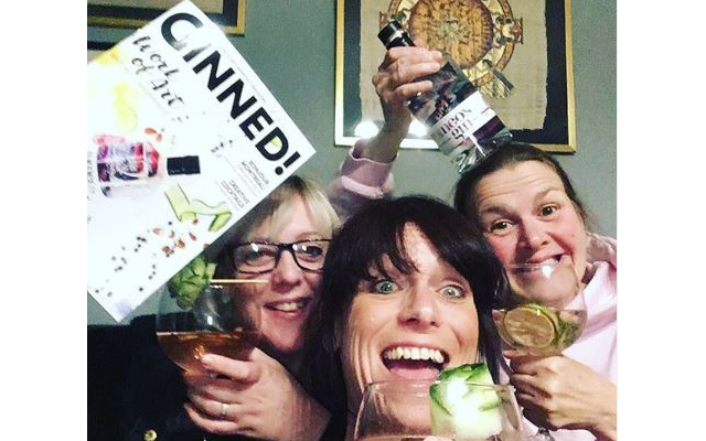 Andrea and her fellow ginpals are loving this month's super spirit!