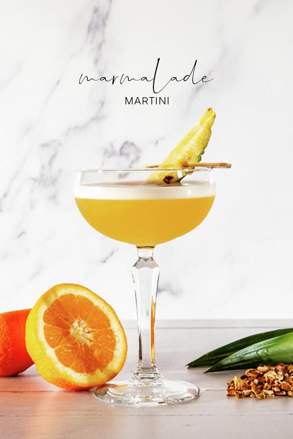 marmalade pineapple orange martini