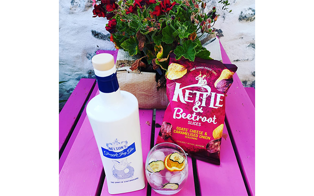 A colourful combination from member Rachel G. as she tucked into her Gin of the Month treats!