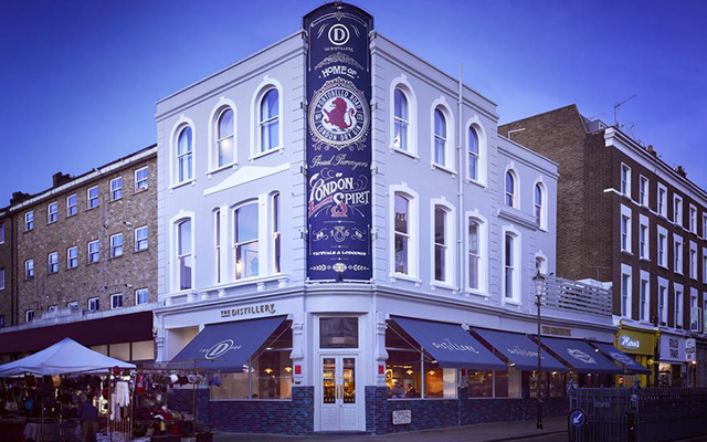 The Distillery in London is a four-storey mecca for lovers of gin