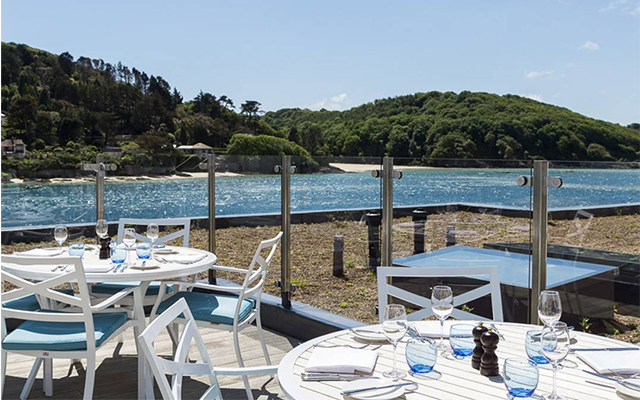 Salcombe Harbour Hotel is a short walk from the Salcombe Distillery