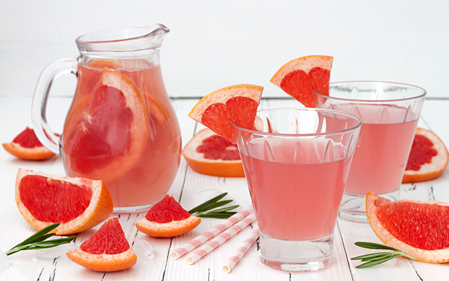 This sparkling gin and grapefruit punch is a real crowd-pleaser