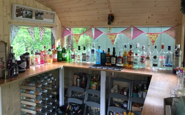 Craft Gin Club member Barbara has stocked the Tipsy Bint with an impressive selection of gin!