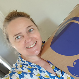 A gin box delivery morning is  simply the best  and we're pretty sure Sophie M here would agree!
