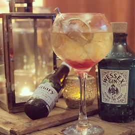 We were spellbound by Jack's snap of September's Cocktail of the Month: King Alfred's Charm. Charmed, we're sure!