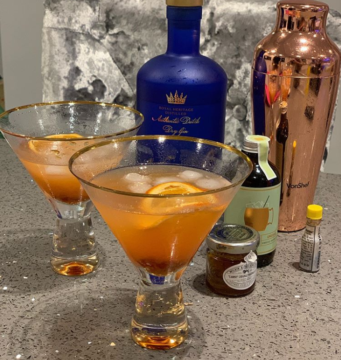 Cocktail photos, like this from Craft Gin Club member, Sammie? Yes please!