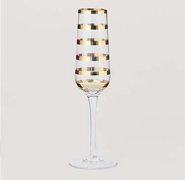 Gold Striped Champagne Flute.jpg