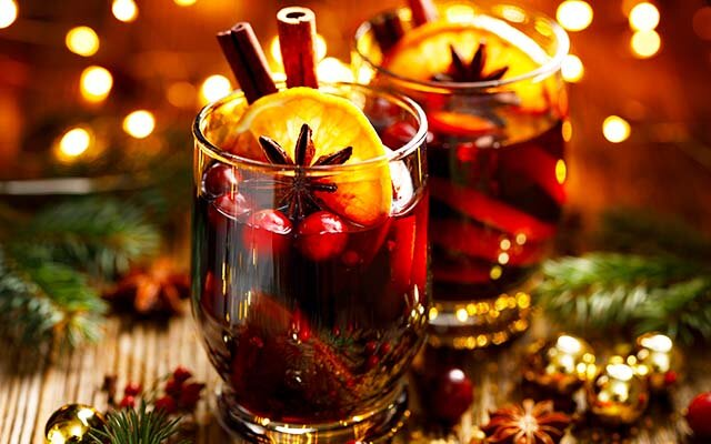 Mulled sloe gin is the new mulled wine this winter! Get the recipe >>