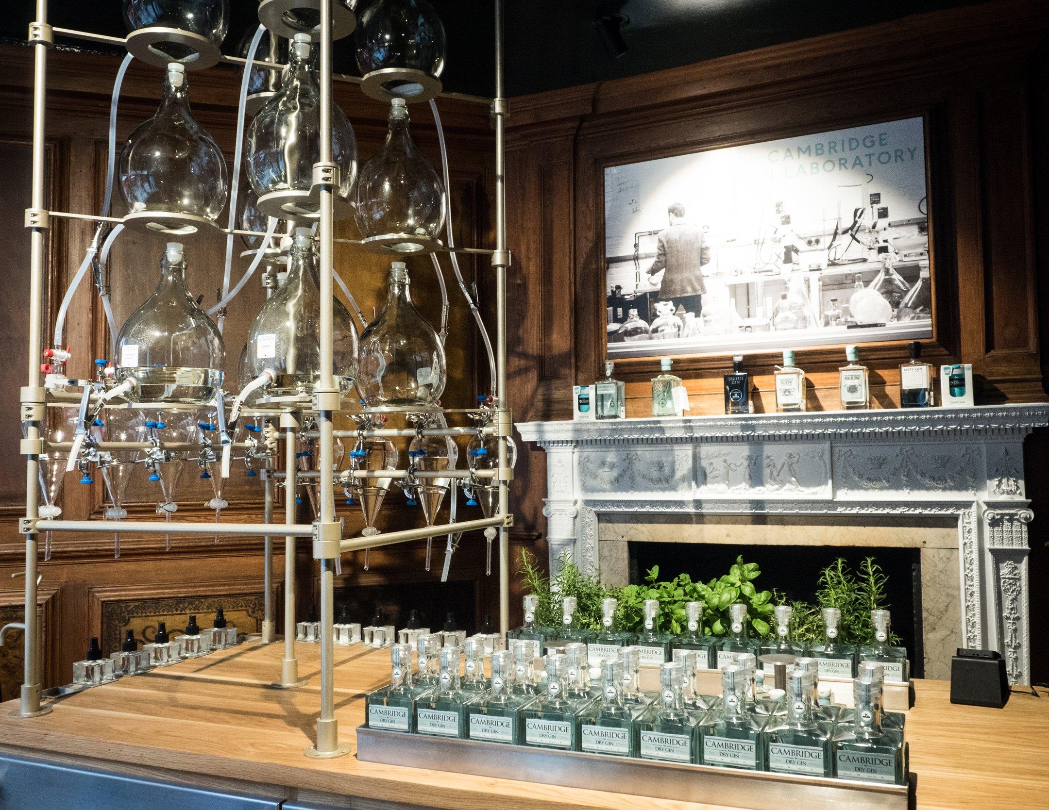 Cambridge Distillery has its own Laboratory