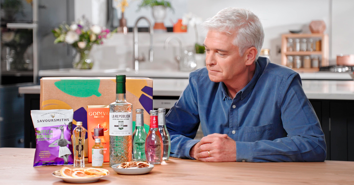 Phillip Schofield joins the Craft Gin Club team! Find out more >>