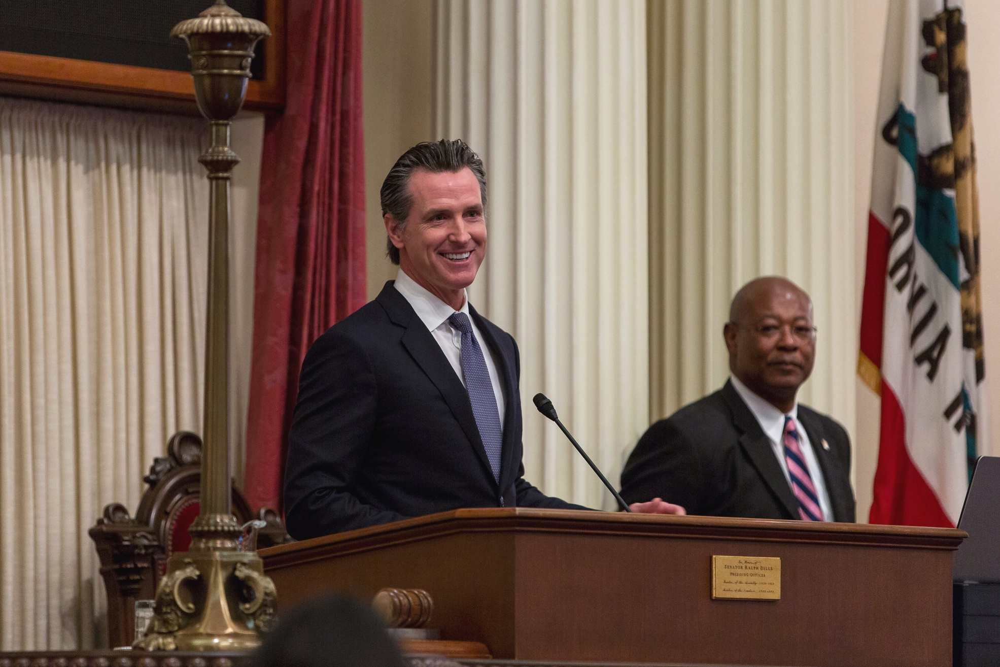 CA Governor Gavin Newsom