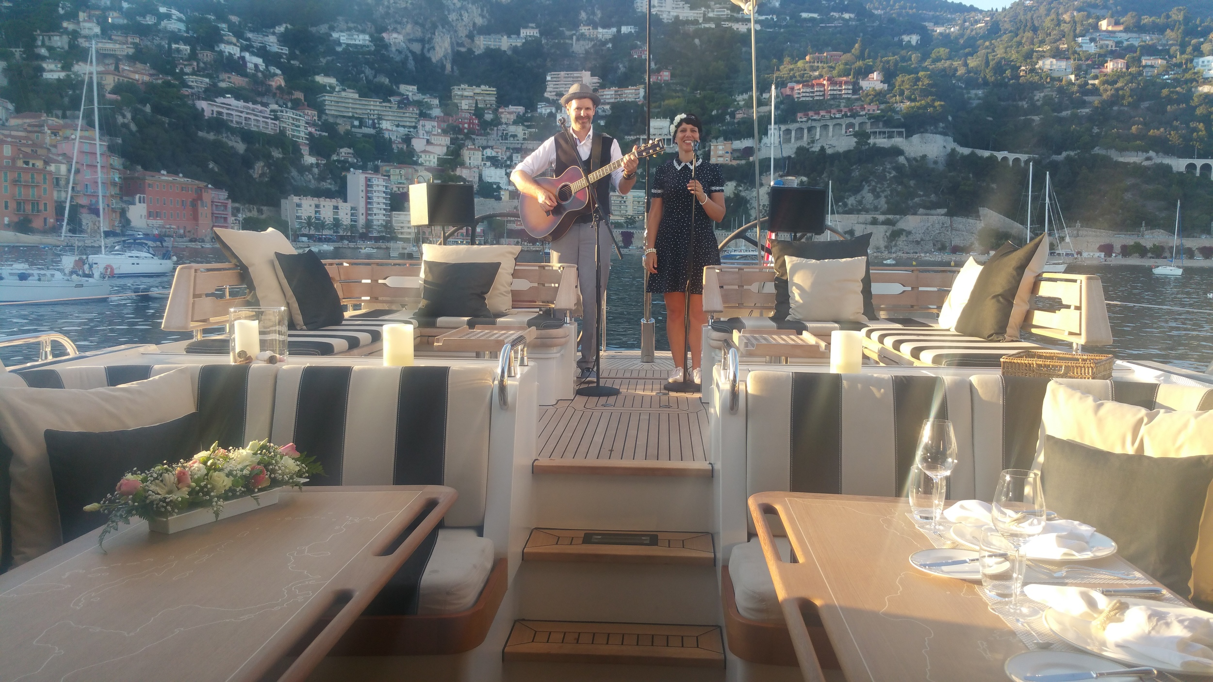 The Little Soul Club on Icarus Yacht