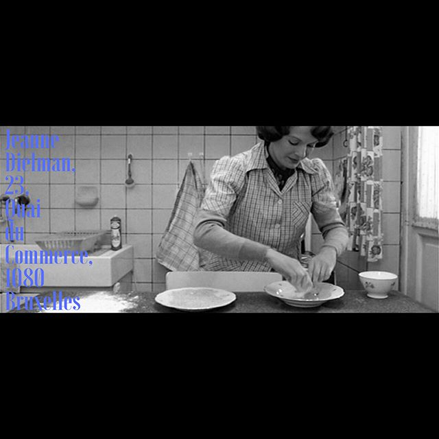 | JEANNE DIELMAN, 23, Quai du Commerce, 1080 Bruxelles | | Chantal Akerman | | 1975 | 210 mins | | Belgium, France |  Swipe 👆🏽⬅️ for capsule review [This movie is beyond star ratings, it is part of film Pantheon]