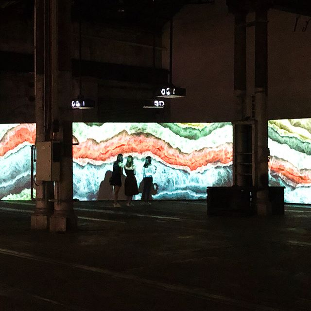 Swipe ⬅️ for words + images.  @biennalesydney @semiconductor_artists @carriageworks