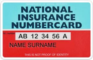 national insurance card expat