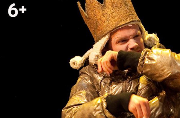 'Wie temt de koning?' (6+) - 2011  In regie van Gienke Deuten, een productie van Oorkaan en het Apollo Ensemble.