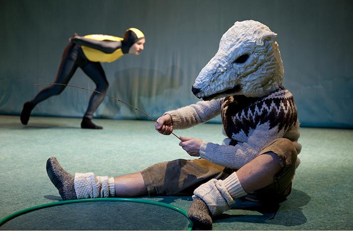 'Beet!' (6+) - 2011  In regie van Gienke Deuten, een productie van Het Houten Huis.