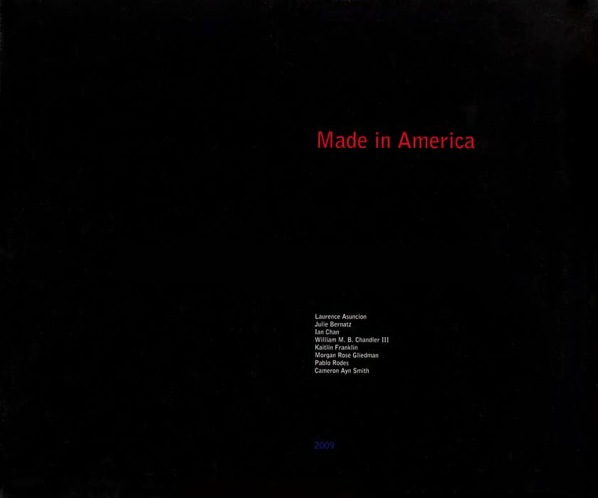 Made In America    | Introduction |