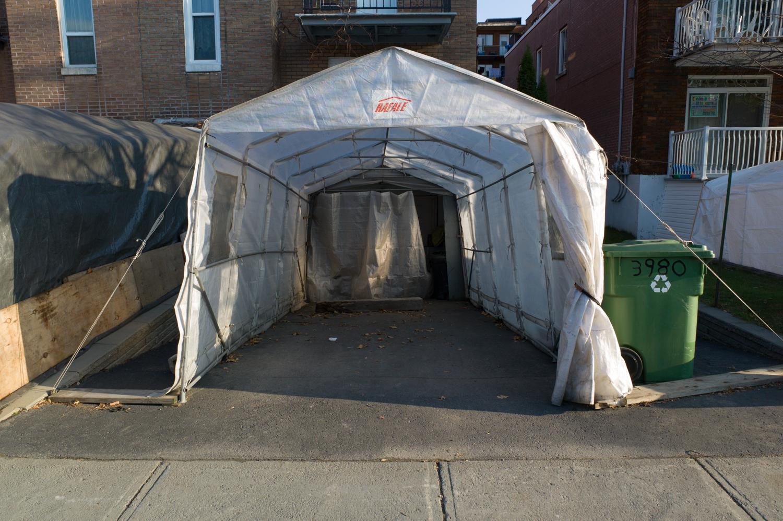 Rue de la Peltrie : Montreal 2012