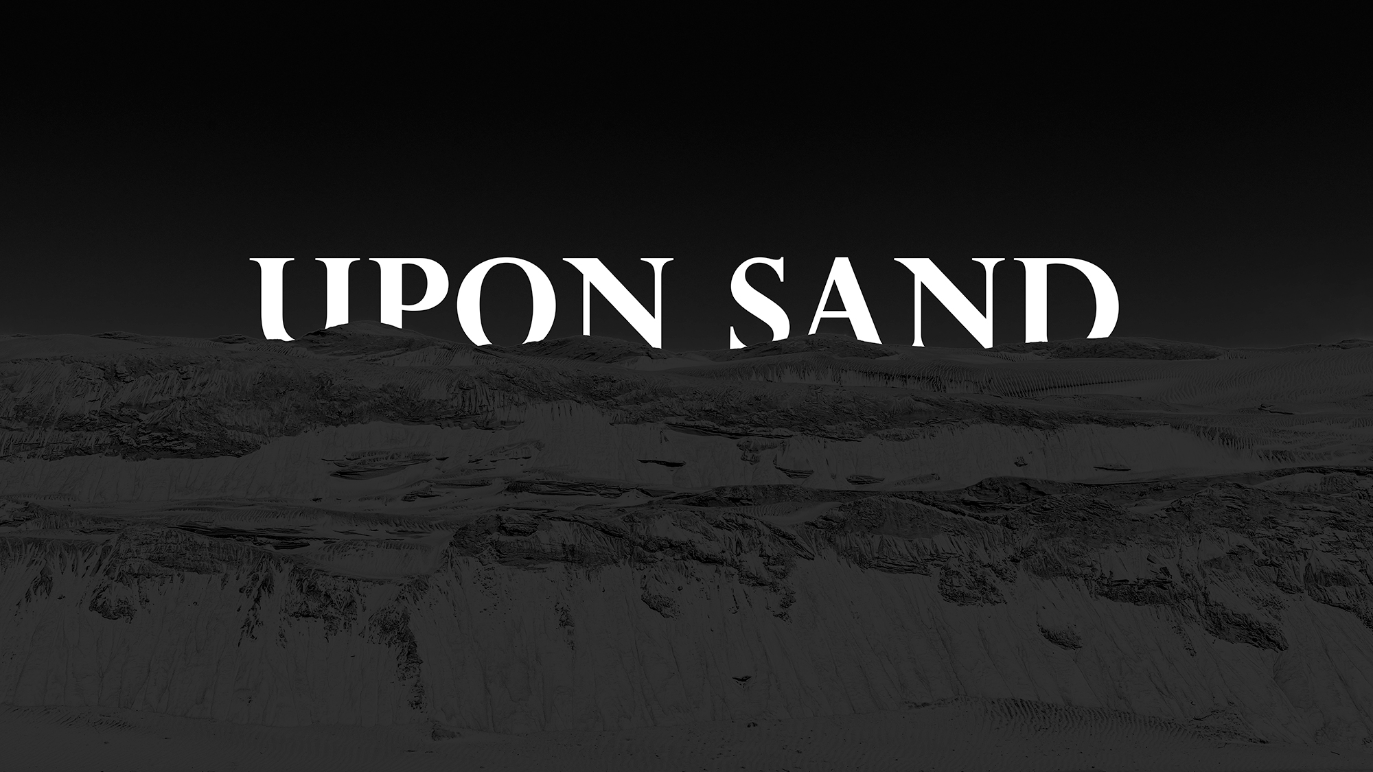 Upon Sand cover Image logo