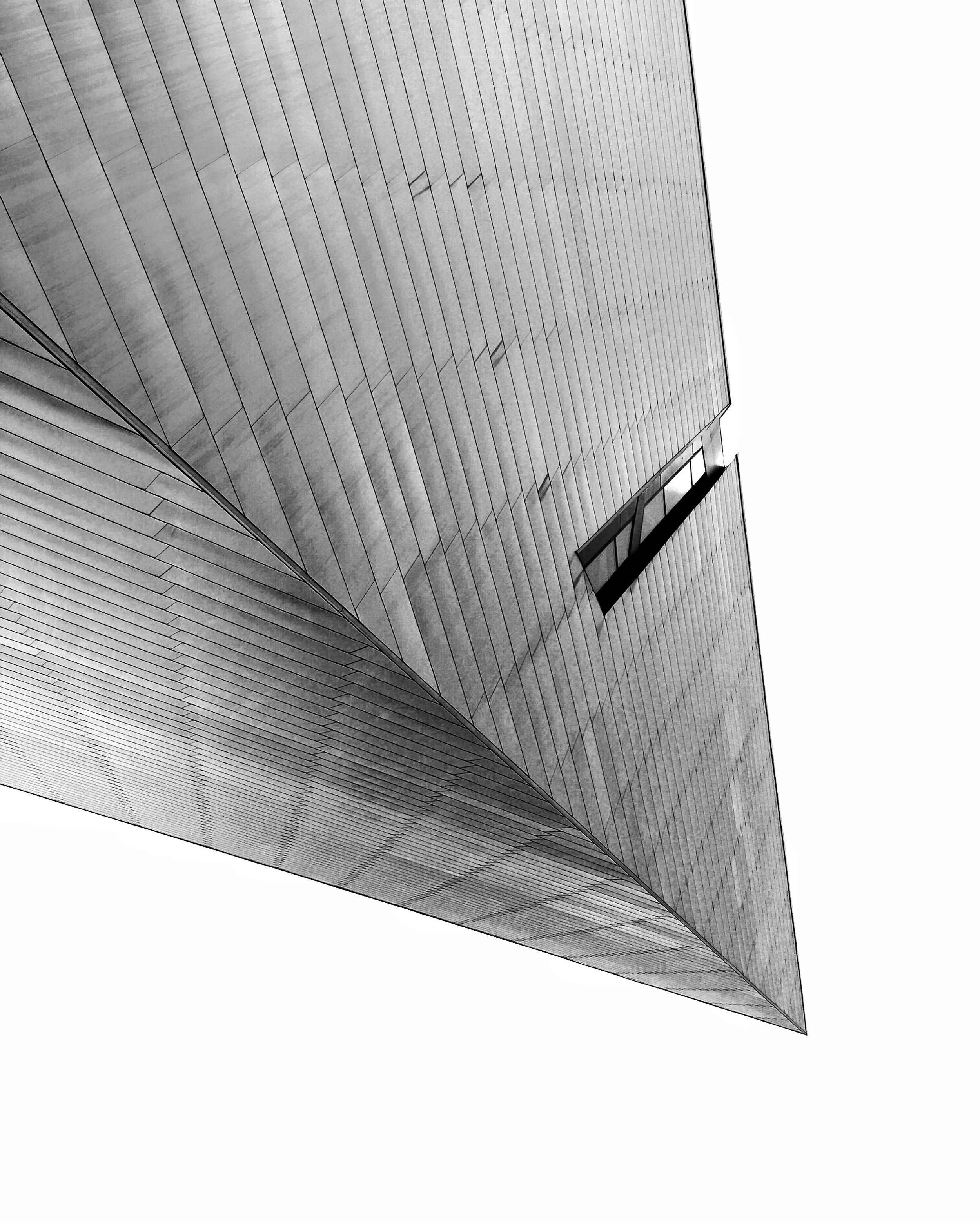 Denver Art Museum by Studio Libeskind. iPhone 6S photo © Miller Taylor