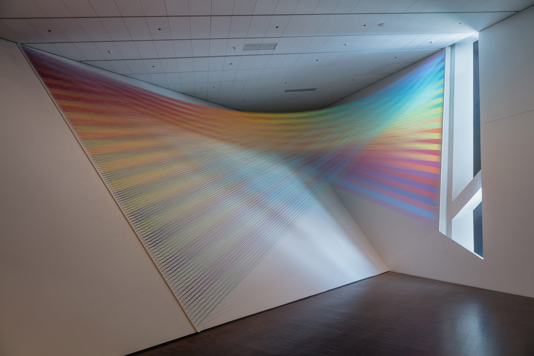 Gabriel Dawe,  Plexus No. 36 , 2016. Courtesy of the artist and the Denver Art Museum. © Gabriel Dawe