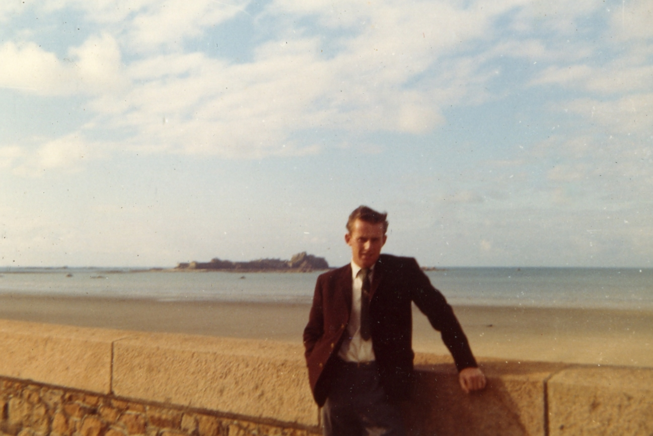 Michael, 1961 - View to Elizabeth Castle from St Helier Esplanade
