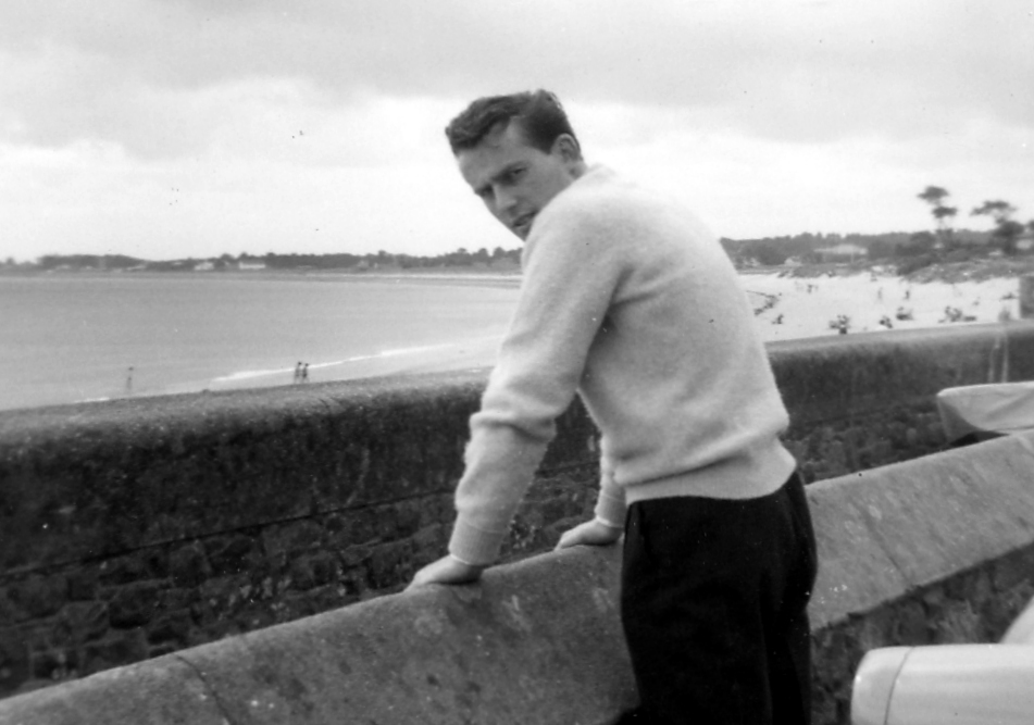 Michael at Gorey Beach, 1961
