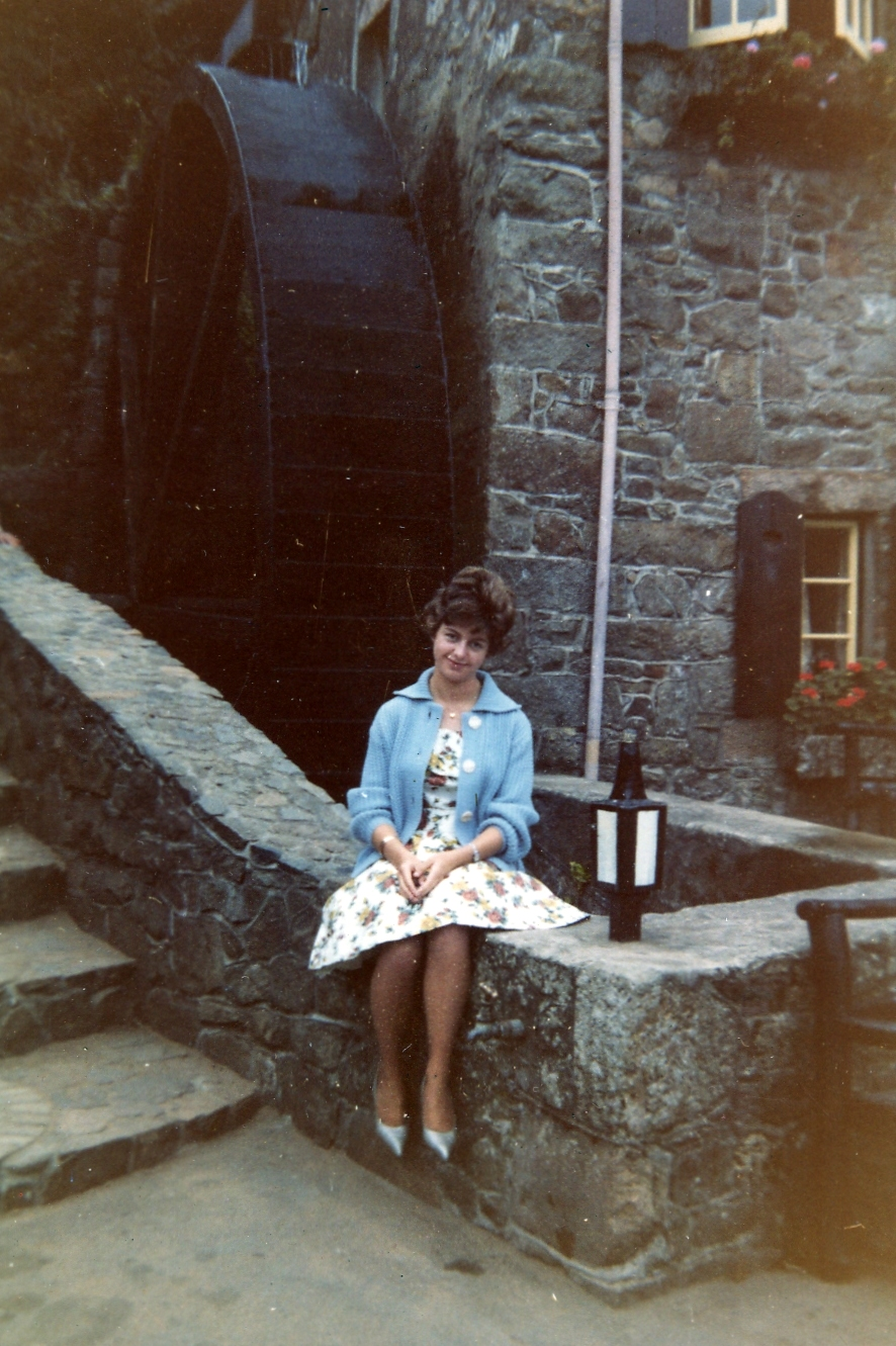 Ann at Moulin de Lecq, 1961
