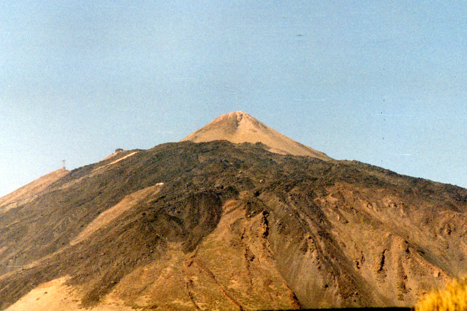 Summit of Teide, early 1980s