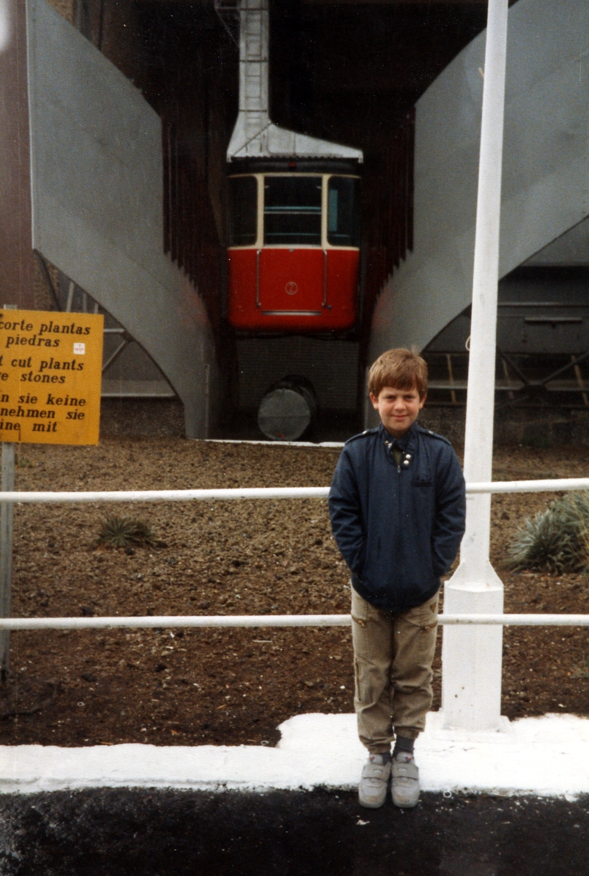 Old cable car: mid 1980s