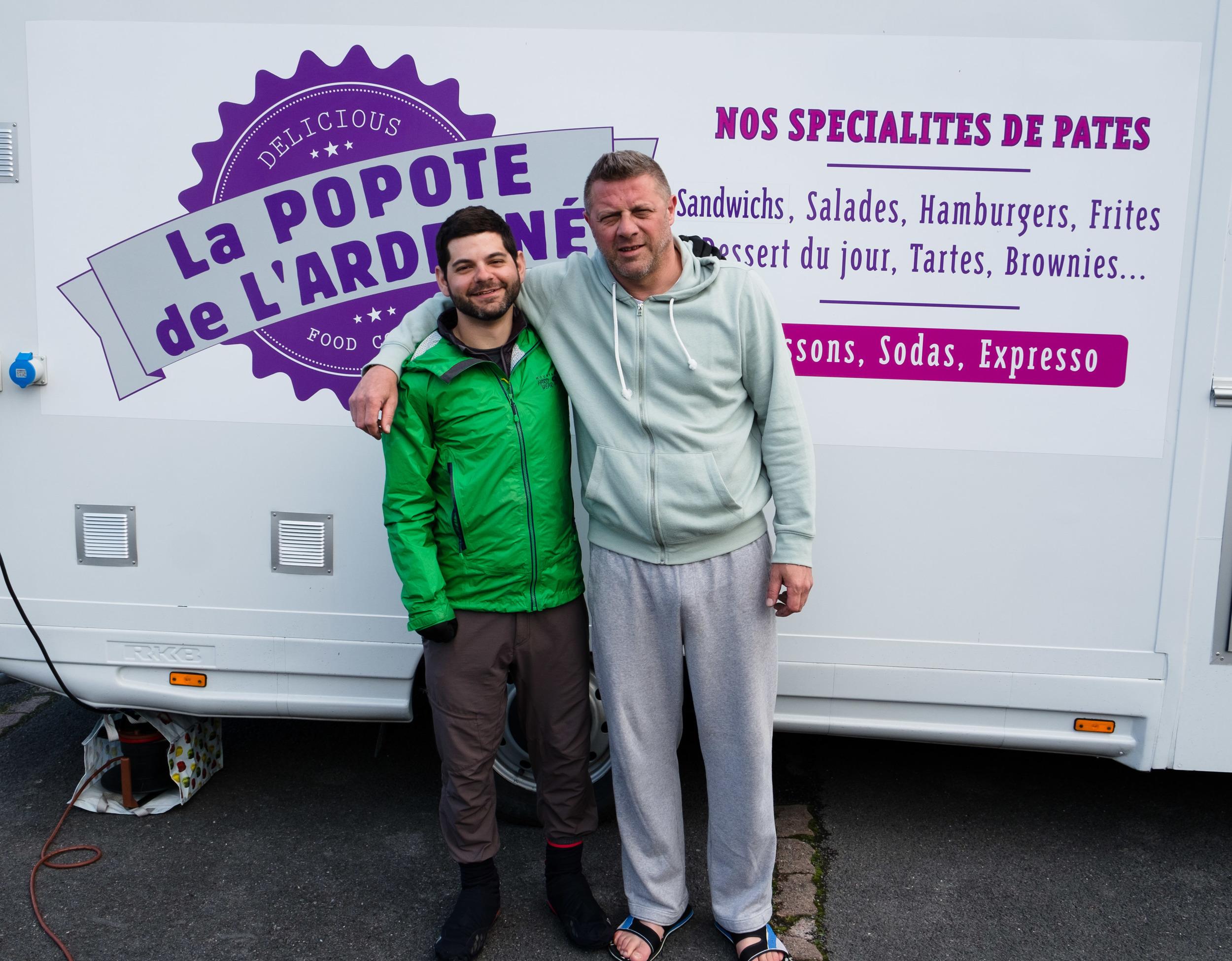 Stéphane, à Vouziers.