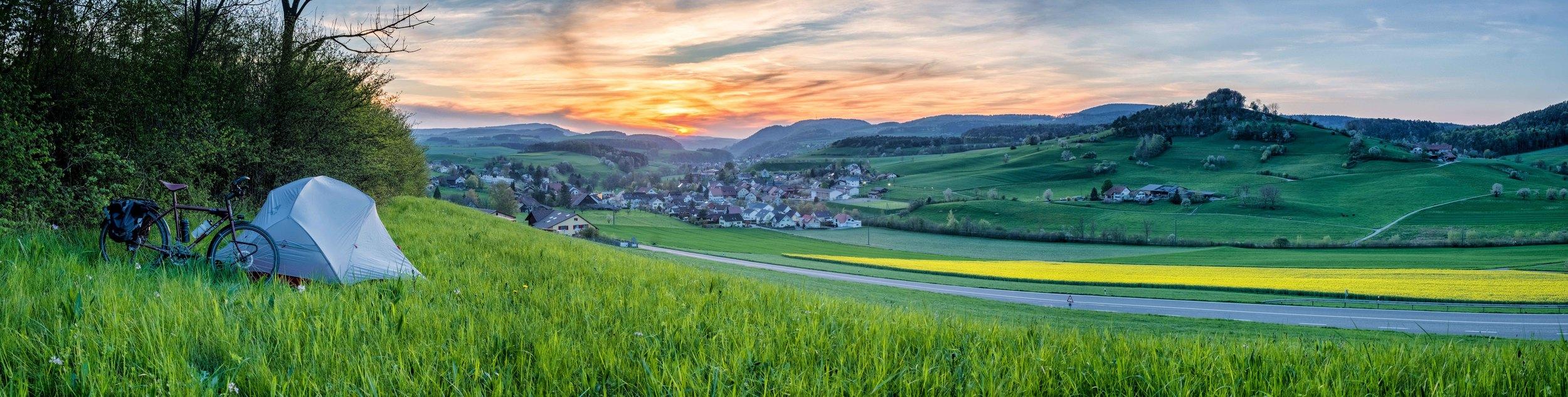 Suisse, entre Bâle et Zurich.