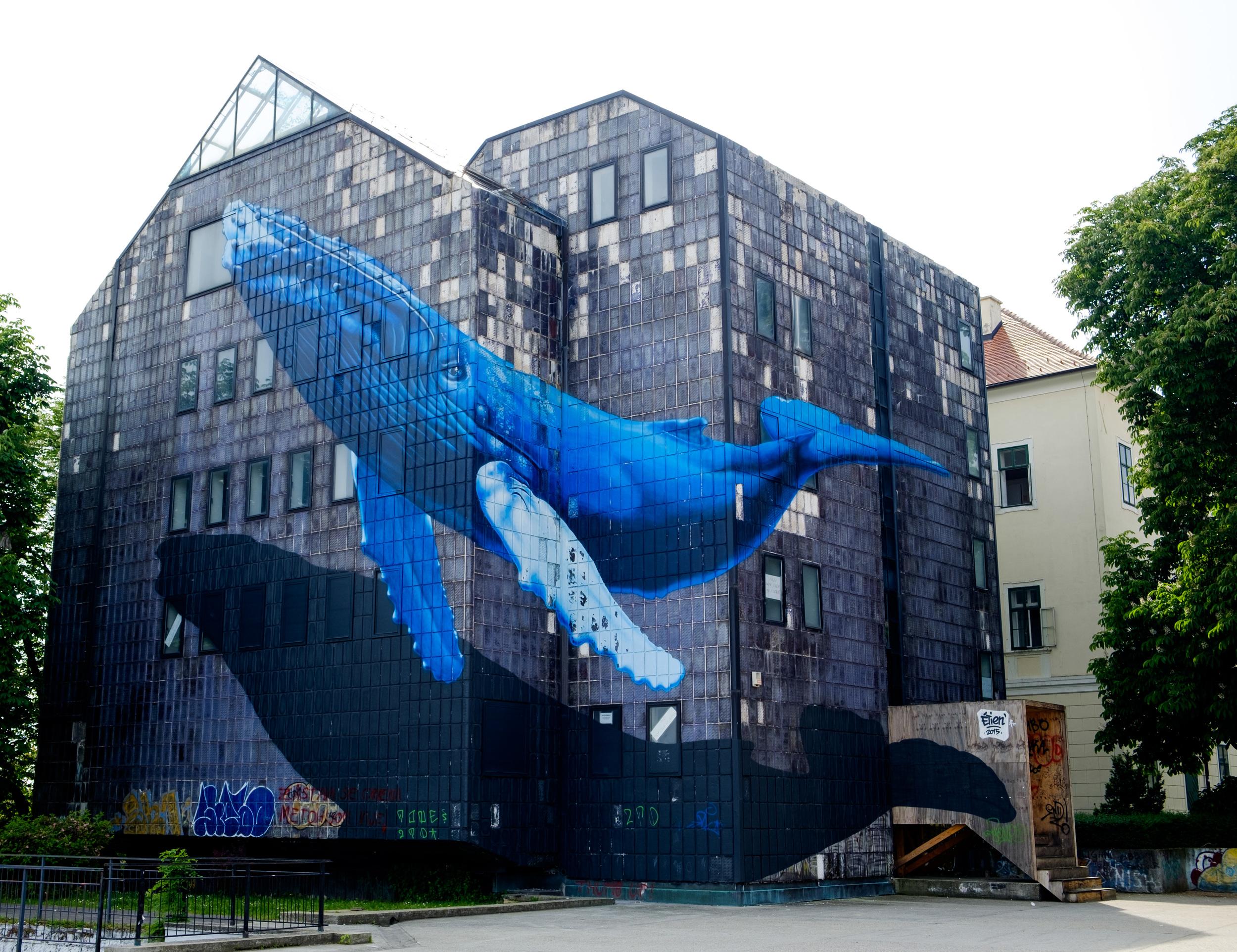 Zagreb est aussi une ville où les graffitis sont omniprésents. Et certains sont incroyablement réussis!
