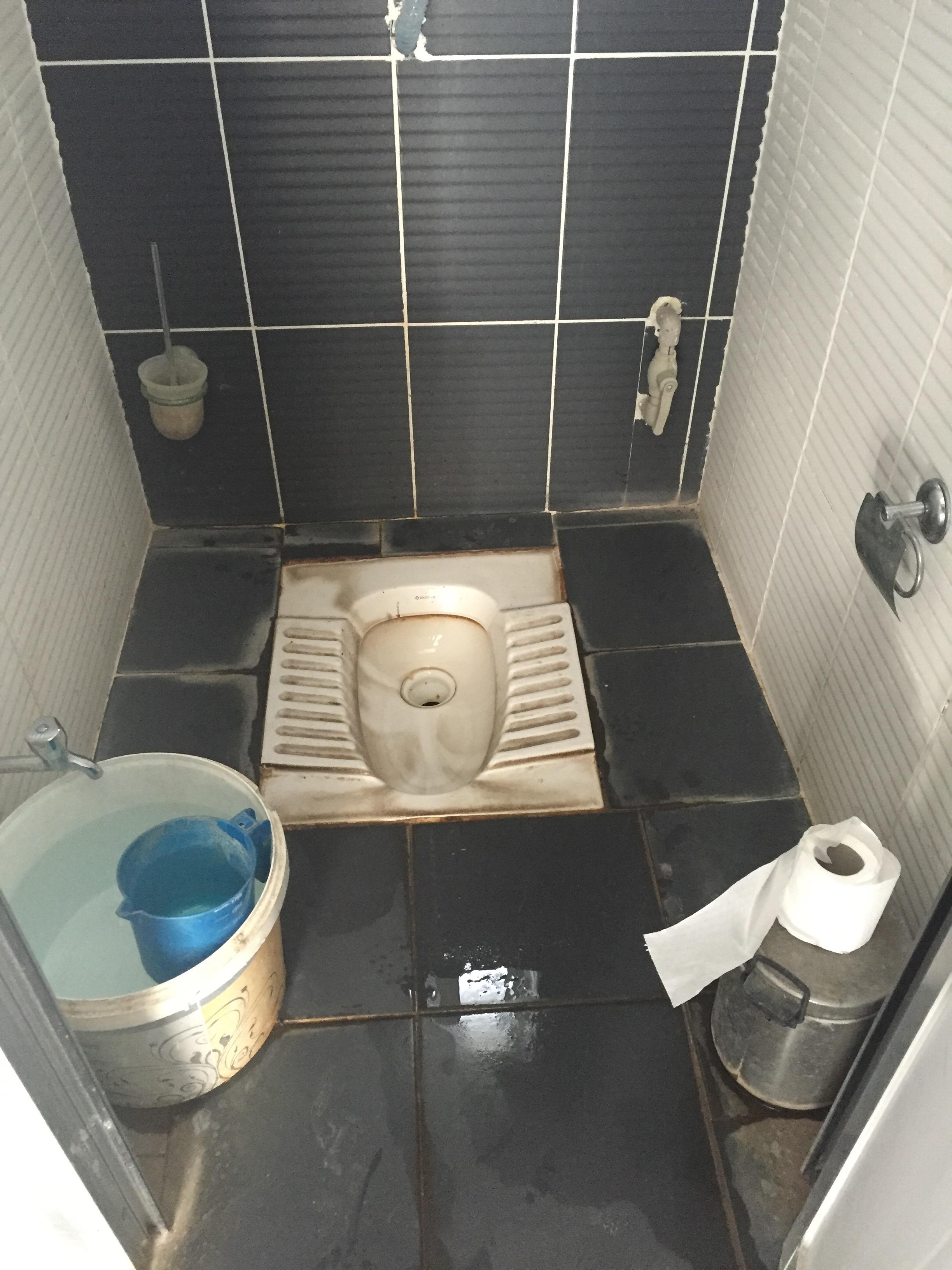 Une des plus belles toilettes de Turquie.