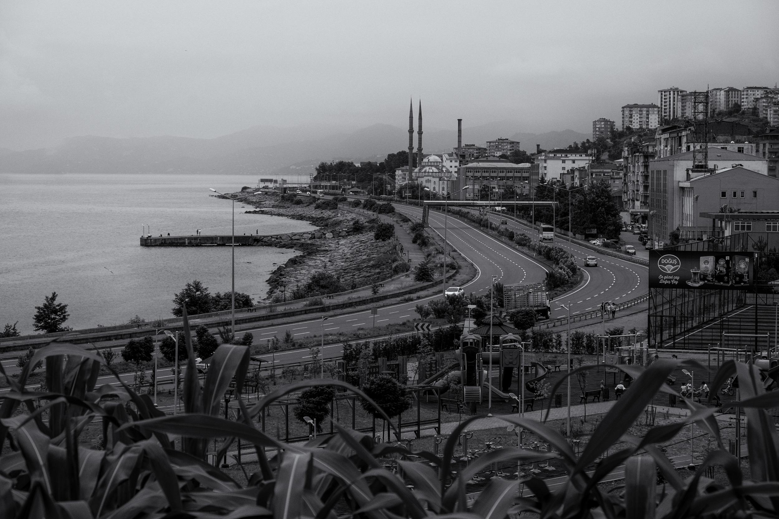 La route de la mer Noire.