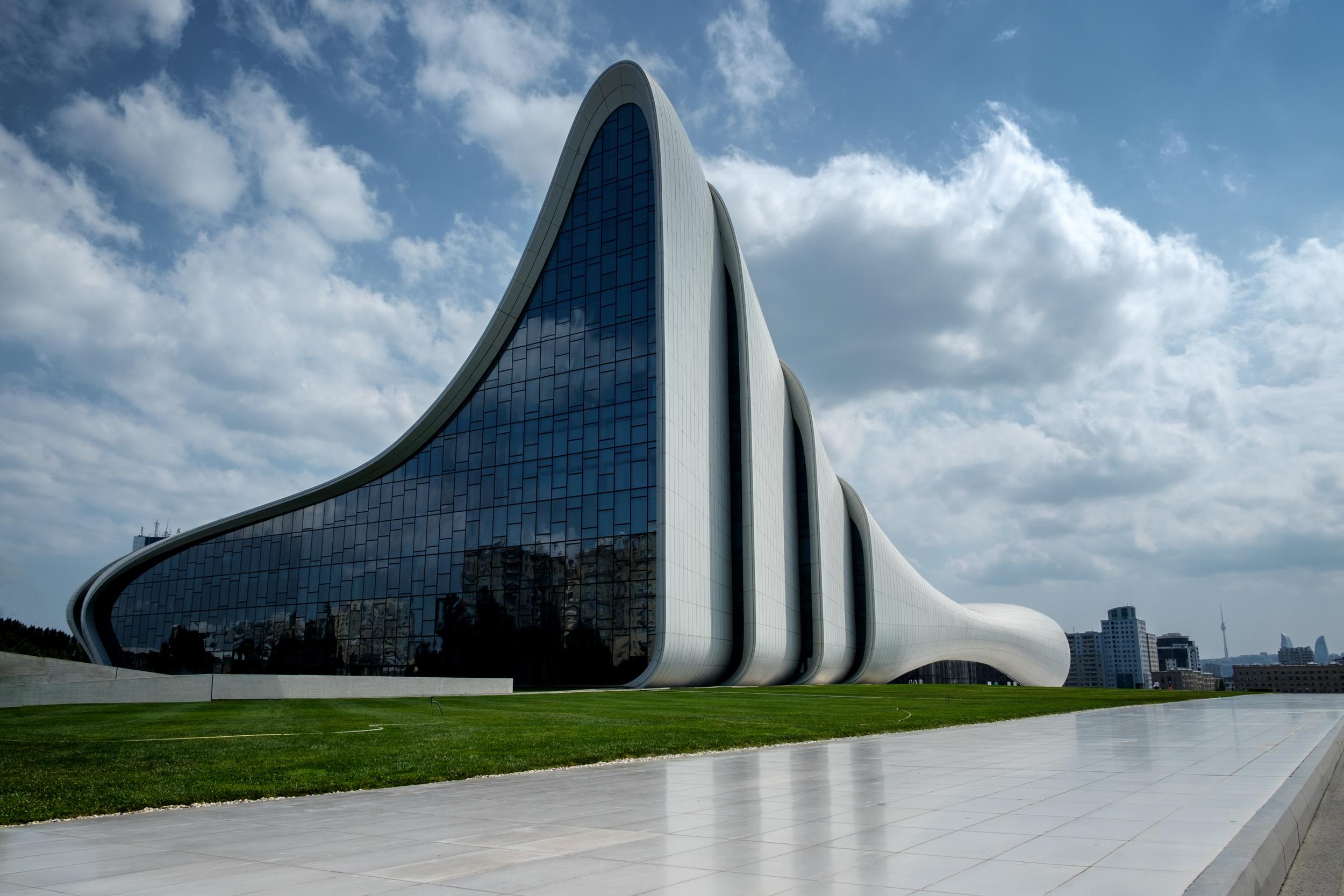 Centre culturel Heydar-Aliyev de Bakou.