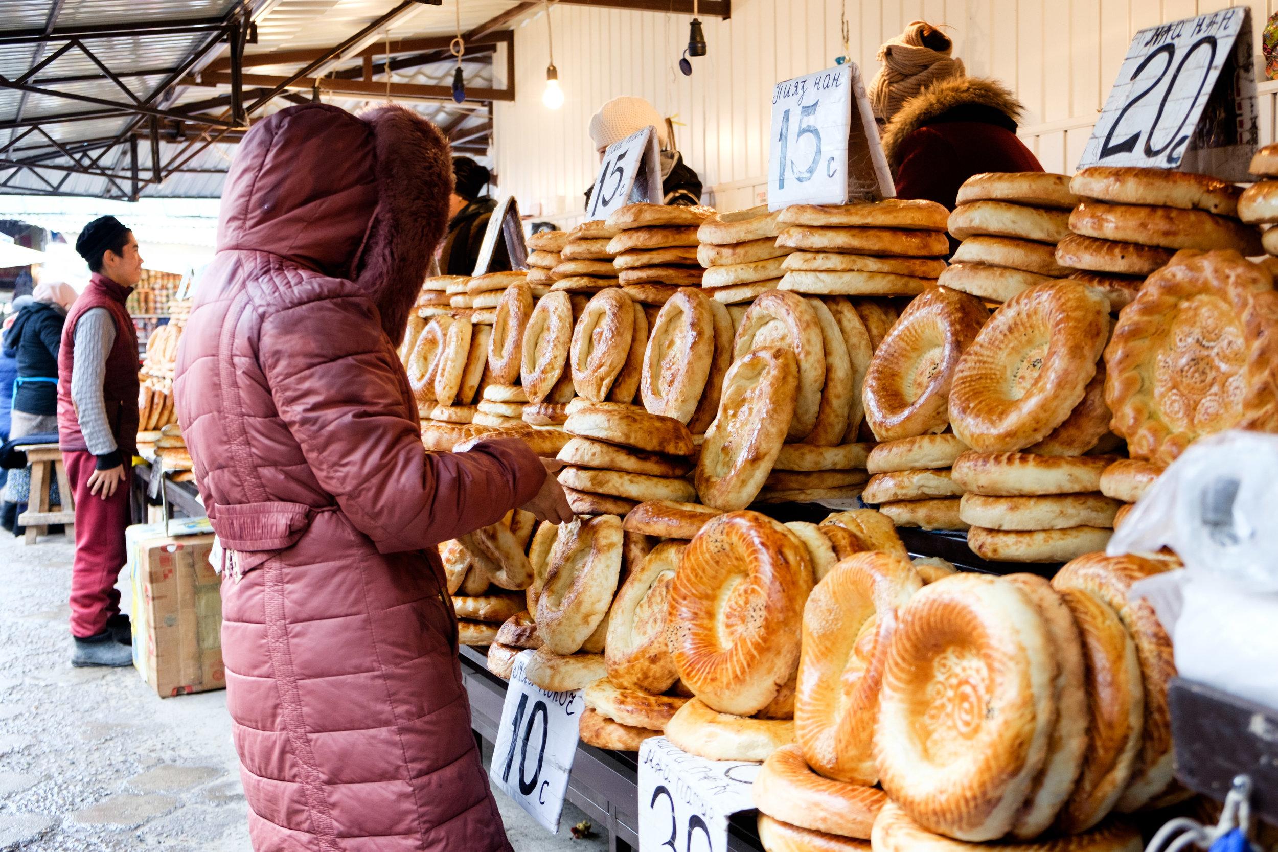 Le fameux et délicieux pain de l'Asie centrale.