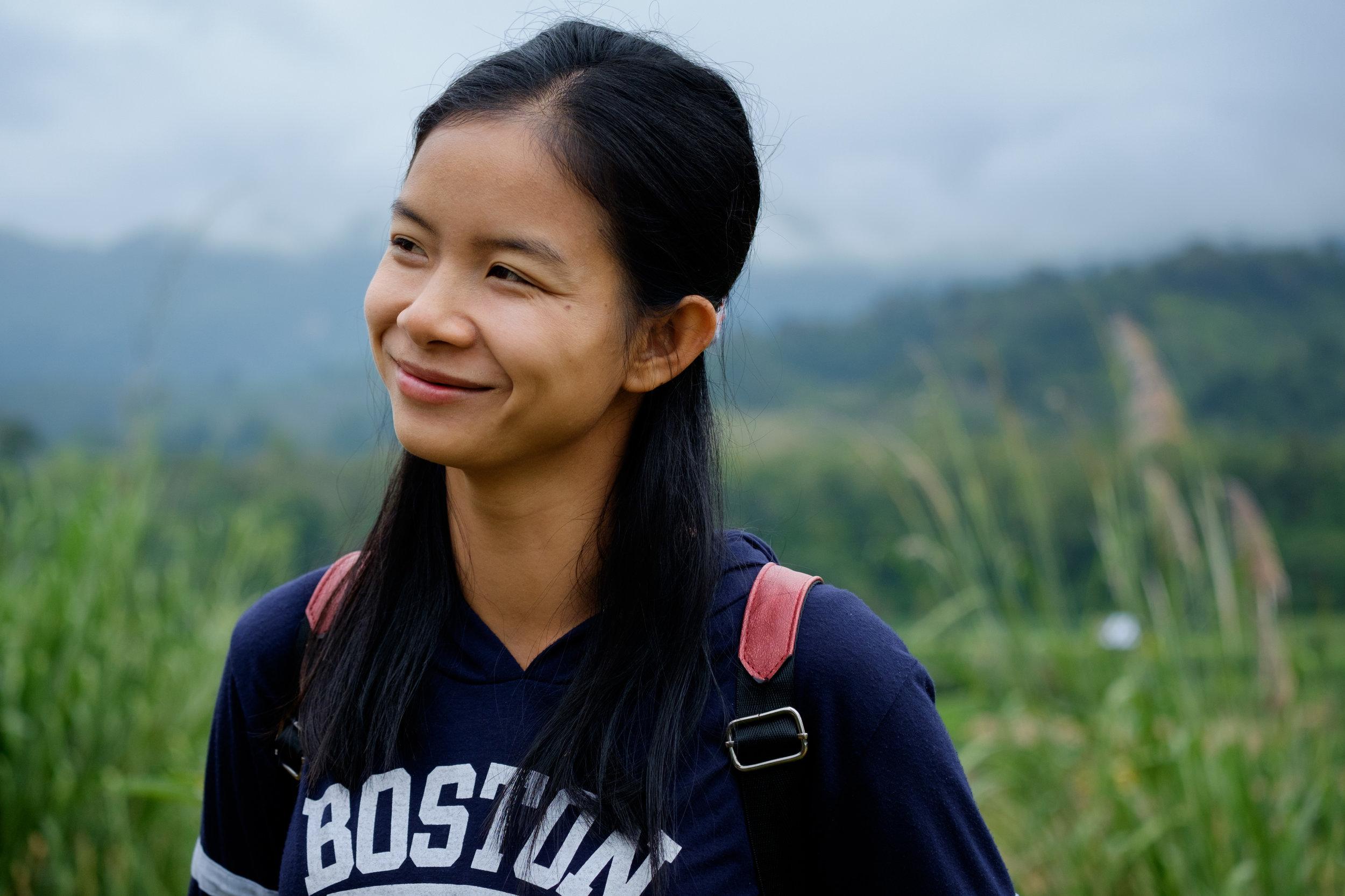 Noi Noi, ou « Petite Petite » en laotien, guide d'éléphants.