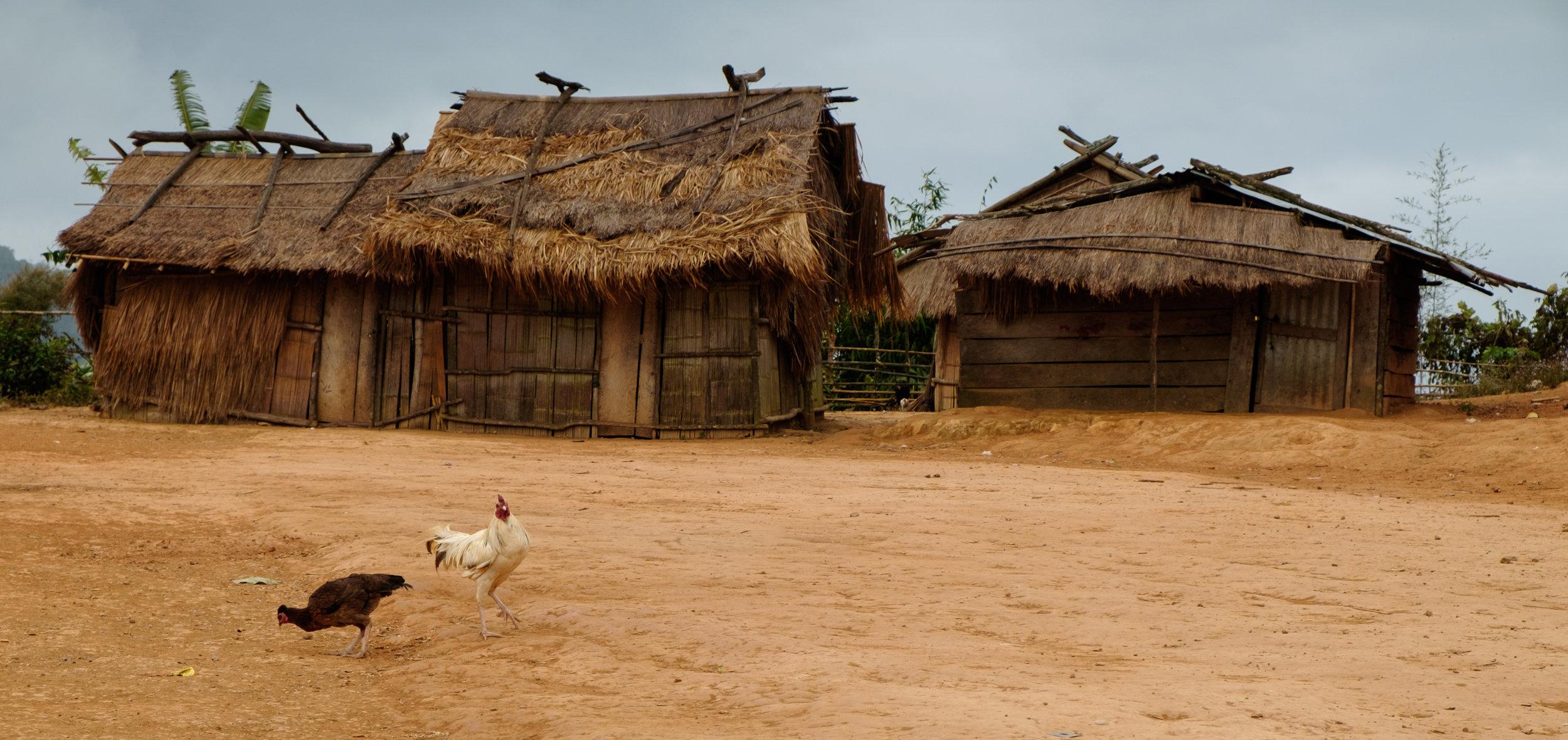 Croyez-le ou non, ceci est une maison laotienne.