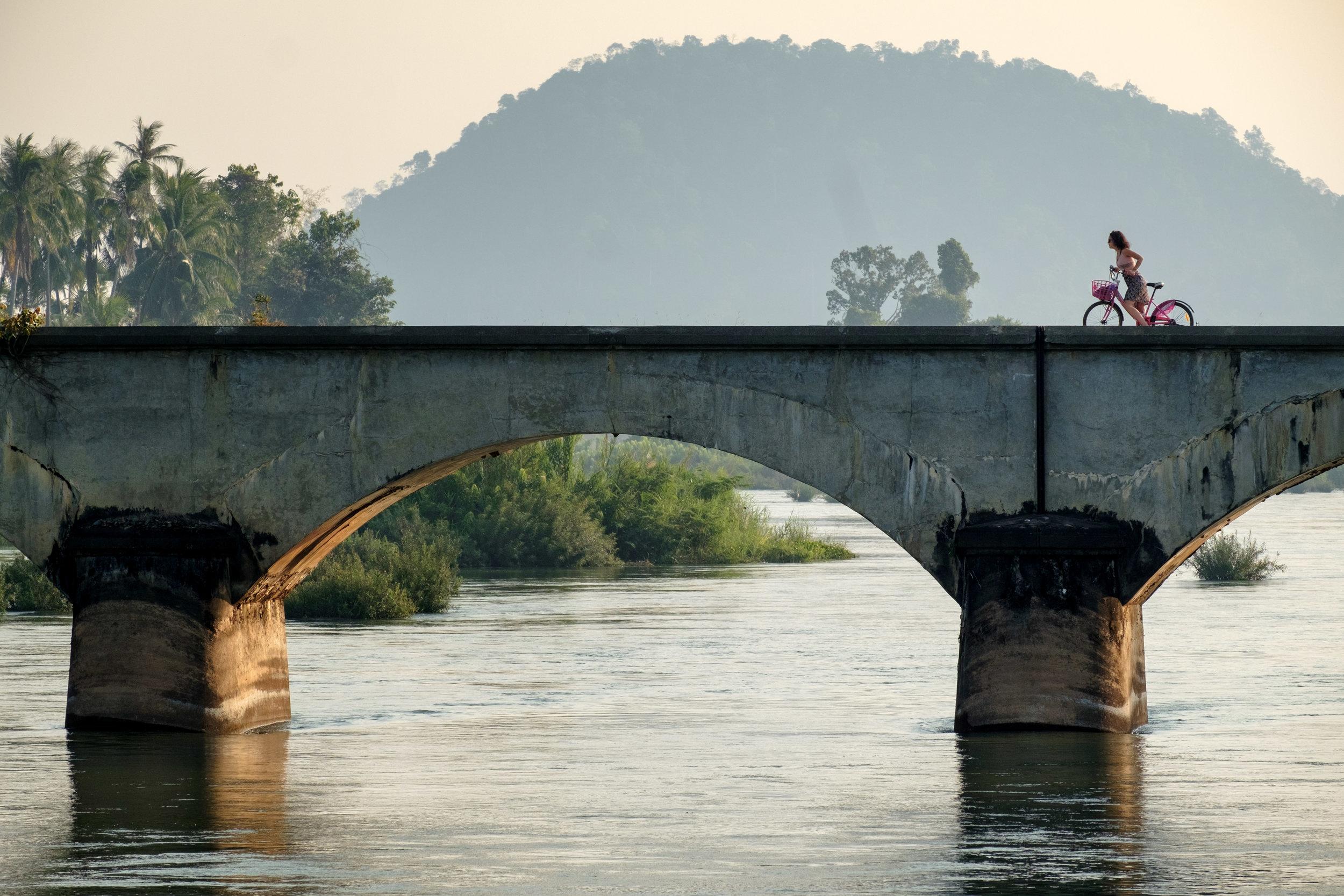 Autre preuve, s'il en faut une, qu'un vélo est toujours photogénique !