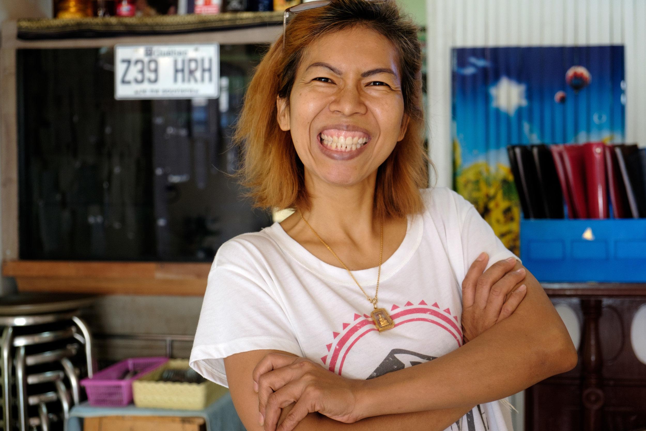 Onnicha, propriétaire du restaurant Bangkok Poutine